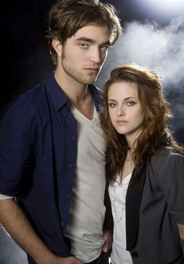 Robert Pattinson y Kristen Stewart, los protagonistas de 'Crepúsculo'