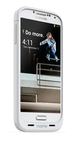 Mophie da un extra de batería al Galaxy S4