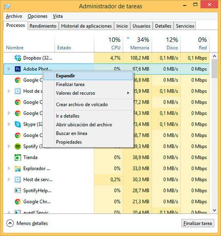 Cómo utilizar el administrador de tareas de Windows 3 Paso
