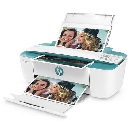 Impresora Multifuncion Hp Deskjet 3762 Blanco Verde