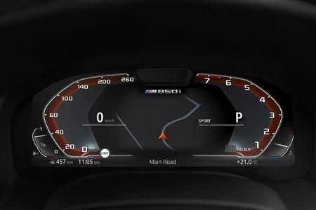 BMW Serie 8 cuadro de instrumentos