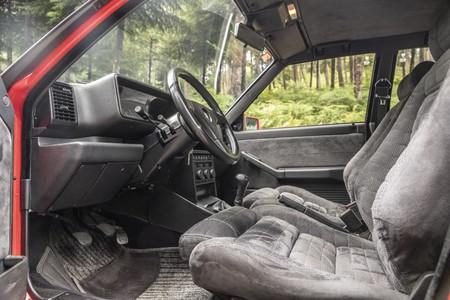 Lancia Delta HF Integrale Prueba habitáculo