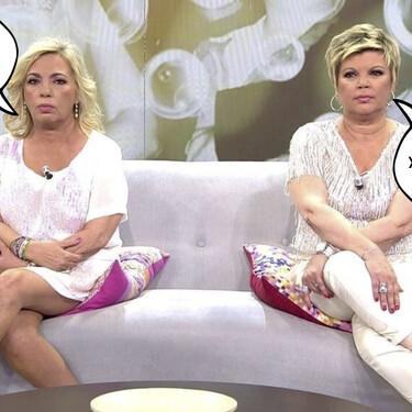 Esta ha sido la reacción de Carmen Borrego al ver cómo su hermana Terelu defendía la postura de Alejandra Rubio en el conflicto familiar