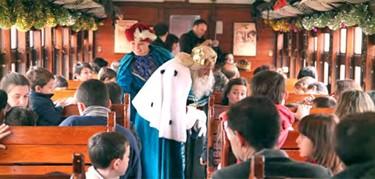 El Tren Navidad para dar un paseo con los peques en Madrid