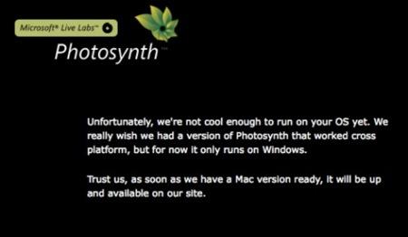 Microsoft lanza un mensaje desafiante en Photosynth