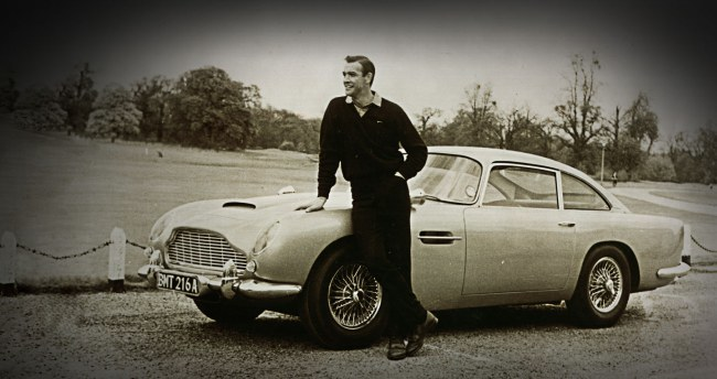 Aston Martin y James Bond