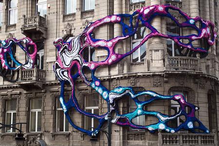 Crystal Wagner Hyperbolic Lodz Murals Designboom 06