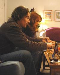 Hawke y Arquette en una escena de la película