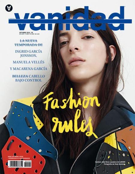 Vanidad Octubre Fashion Rules Vanidad