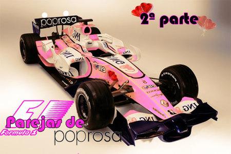 Parejas de Poprosa: Fórmula 1 (II)