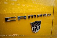El Chevrolet Camaro Bumblebee en vivo desde Nueva York