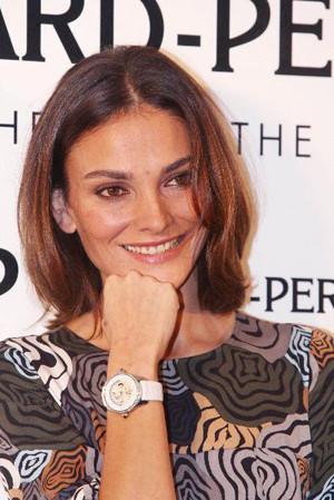 Laura Ponte, nueva imagen de lujoso reloj suizo