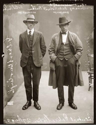 Delincuentes por la policía de Sidney años 20 -3