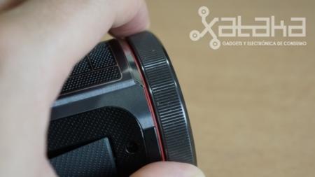Anillo de control en la X900