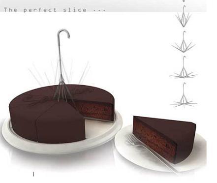 Cortador de tartas para porciones perfectas