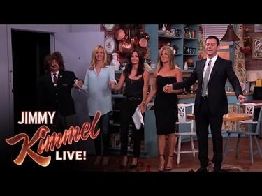 ¡Friends ha vuelto! Bueno, casi, Kimmel reune a las chicas