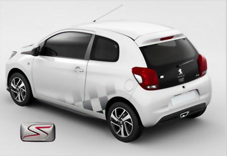Peugeot 108 Línea S: personalización basada en la competición
