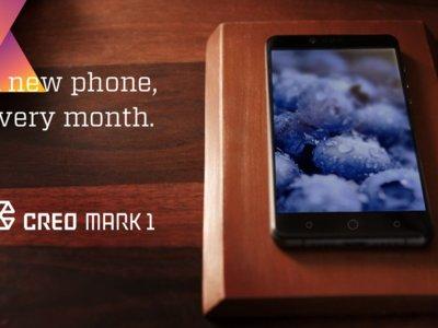CREO presenta el Mark 1 y un SO Android con actualizaciones mensuales