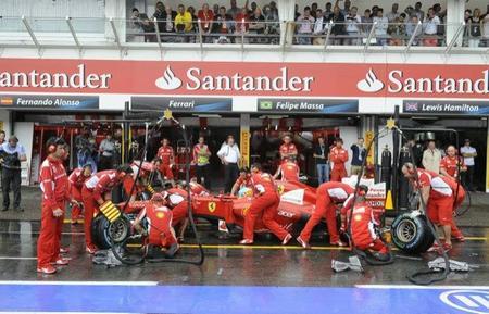 Fernando Alonso en la Q3 de Hockenheim