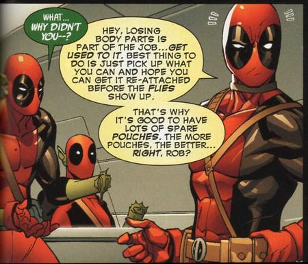 Deadpool Cuerpos