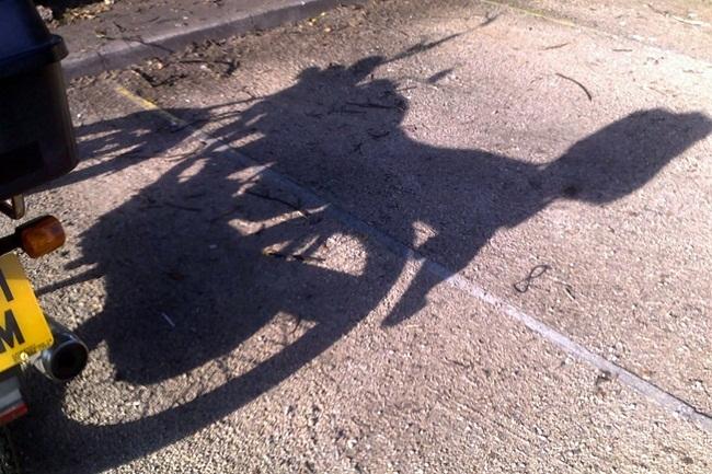 Sombra de moto