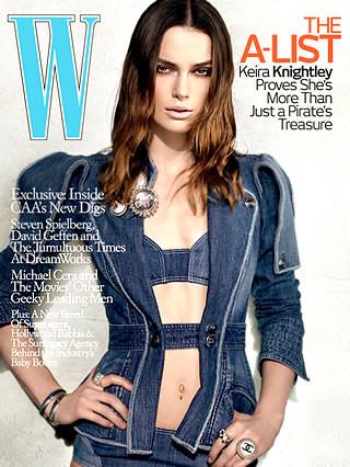 Keira Knightley de Chanel para la revista W
