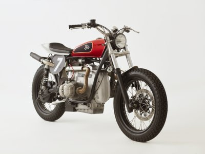 Posiblemente, la Fuel R100 Tracker #2 sea la BMW R100 RS más cool que hayas visto