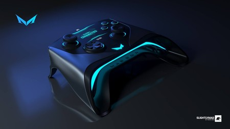 Max Box presenta el prototipo de su mando: disposición de Xbox con una interesante pantalla táctil integrada