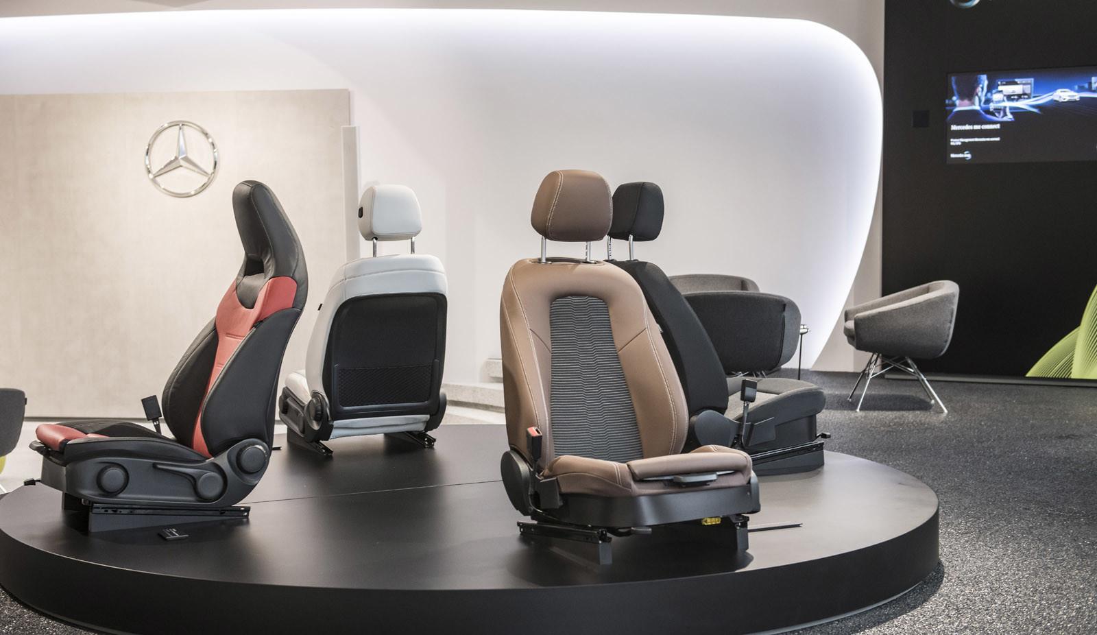 Foto de Mercedes-Benz Clase A 2018: impresiones del interior (20/28)