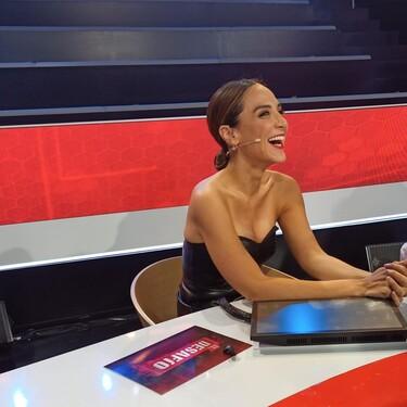 Tamara Falcó nos muestra su lado más sexy con este look de cuero de Zara