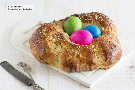 Pan italiano de Pascua. Receta de Semana Santa