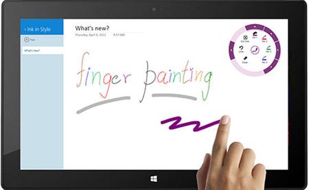 OneNote para Windows 8 se actualiza para facilitar el dibujo con los dedos