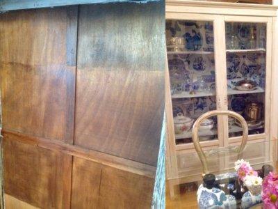 Antes y después: de armario de contenedor a protagonista del salón