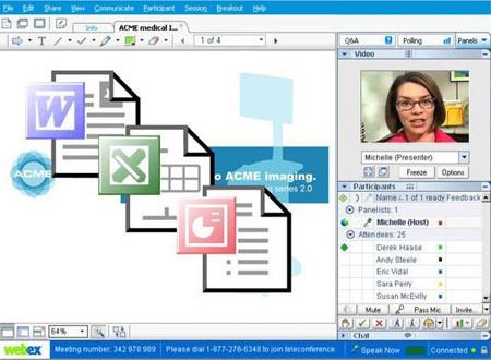 servicios en las salas virtuales