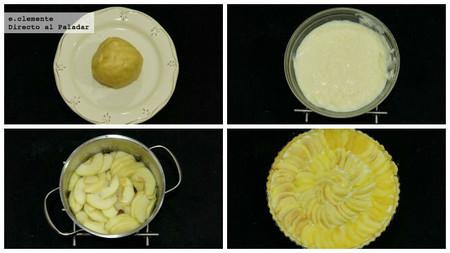 Tarta de manzana con canela y clavo