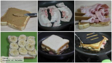 Elvis Sandwich Pasos