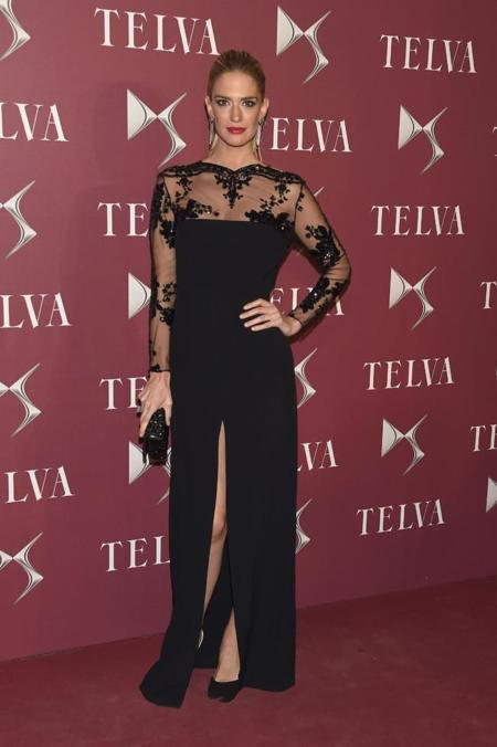 Teresa Baca en la entrega de premios T de Telva