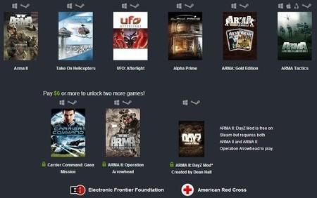 Oferta semanal de Humble Bundle de Bohemia Interactive
