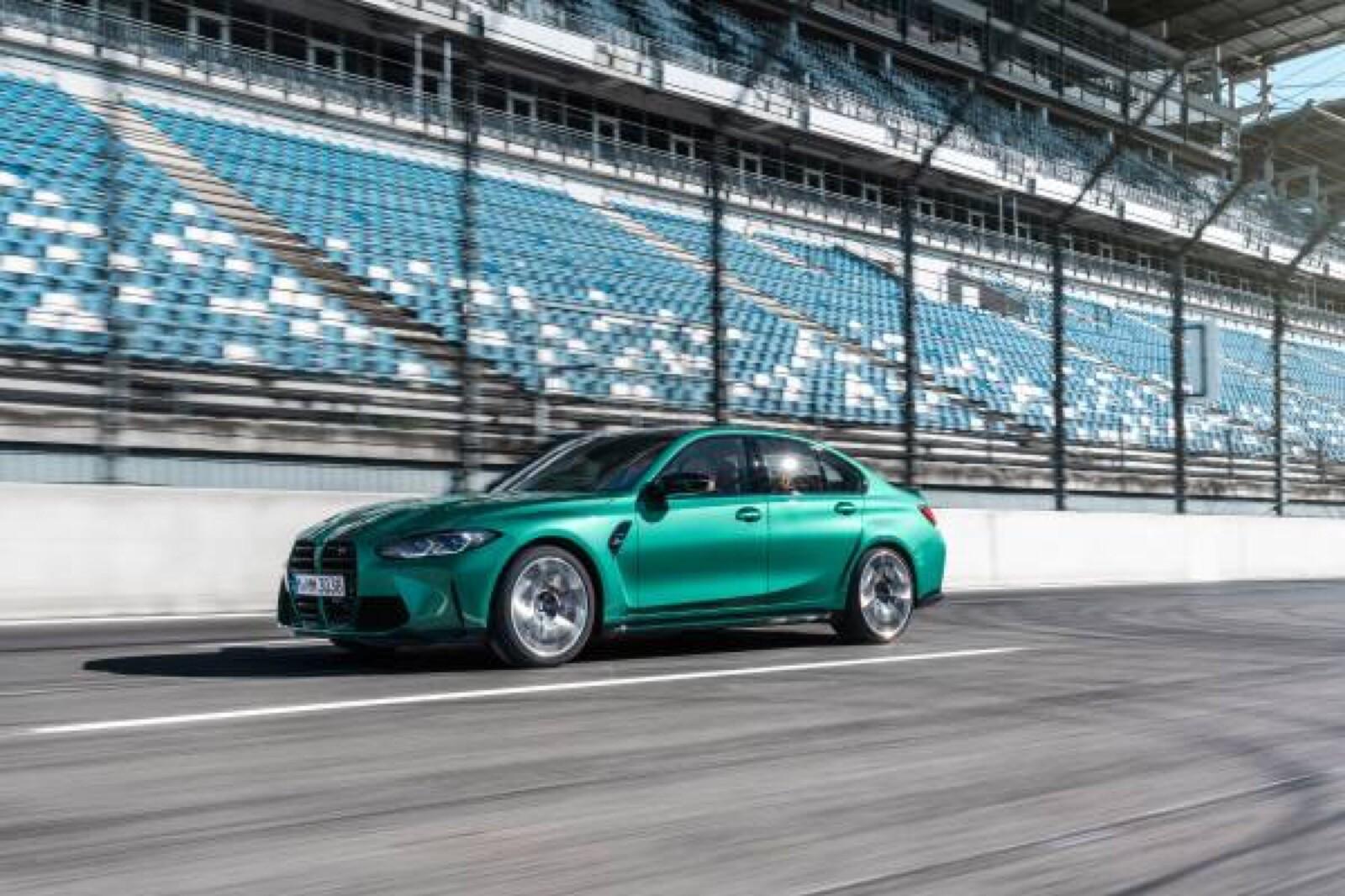 Foto de BMW M3 Competition 2021 (5/40)