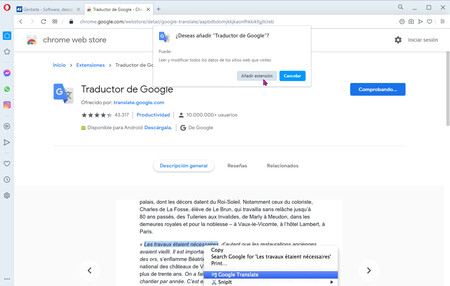 Install Chrome Opera Extensions