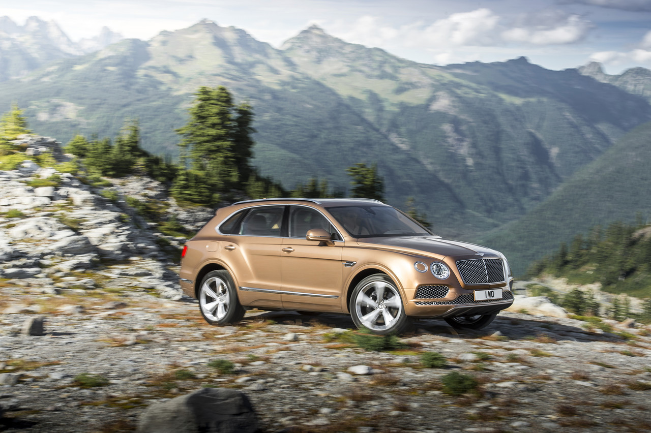 Foto de Bentley Bentayga 2015 (21/27)