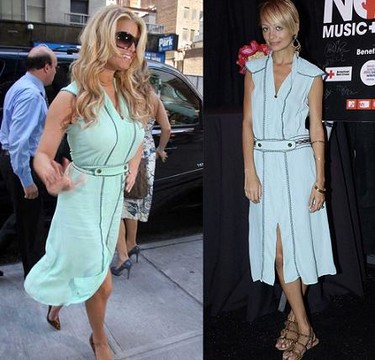 Vestido estilo retro ¿Nicole Richie o Jessica Simpson?