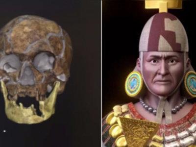 Se recrea en imagen 3D el rostro de Señor de Sipán, 1750 años después