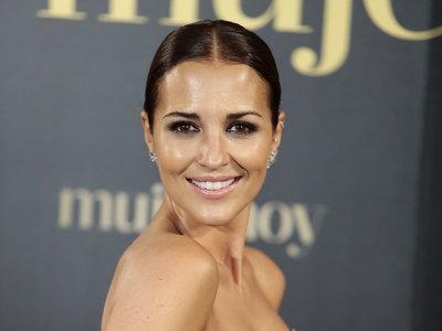 Paula Echevarría se decanta (de nuevo) por el look princesa para brillar en los Premios Mujer de Hoy 2017