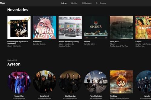Probamos YouTube Music: una alternativa que se hace fuerte en catálogo, pero a la que le faltan opciones