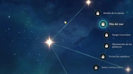 Constelaciones de Eula Genshin Impact
