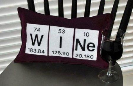 """Detalle para la casa de... un amante del vino, un poco """"friki"""""""