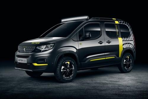 Peugeot Rifter 4x4 concept, el utilitario francés te propone salir a vivir la aventura