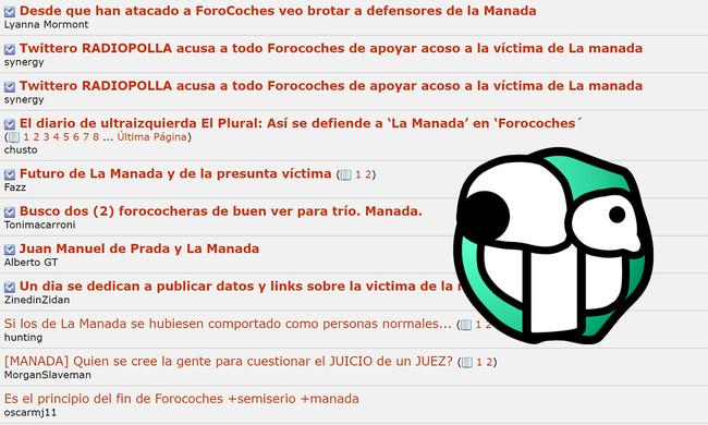 Tras revelar datos de la víctima de La Manada, las empresas se están marchando de Forocoches
