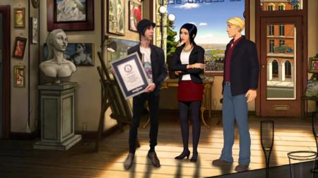 Los protagonistas de Broken Sword consiguen un récord Guinness mundial